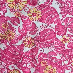 Lilly Pulitzer Fabric - Hotty Pink Chum Bucket